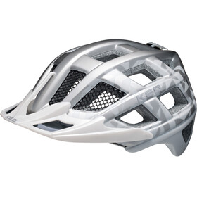 KED Crom Helmet Silver Pearl Matt